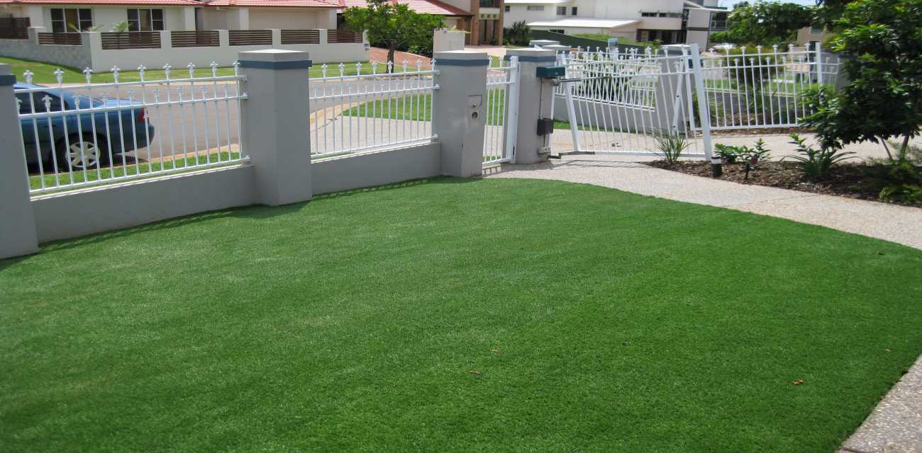Comfort Turf with its Robust lawn which can handle heavy traffic and items such as sun loungers and kids playing footy.