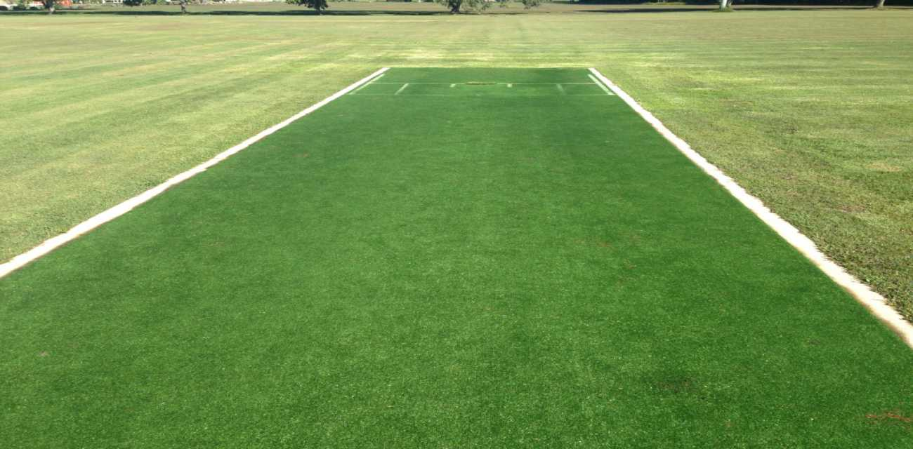 The Luxe Cricket Pitch suitable for school, council and club cricket.