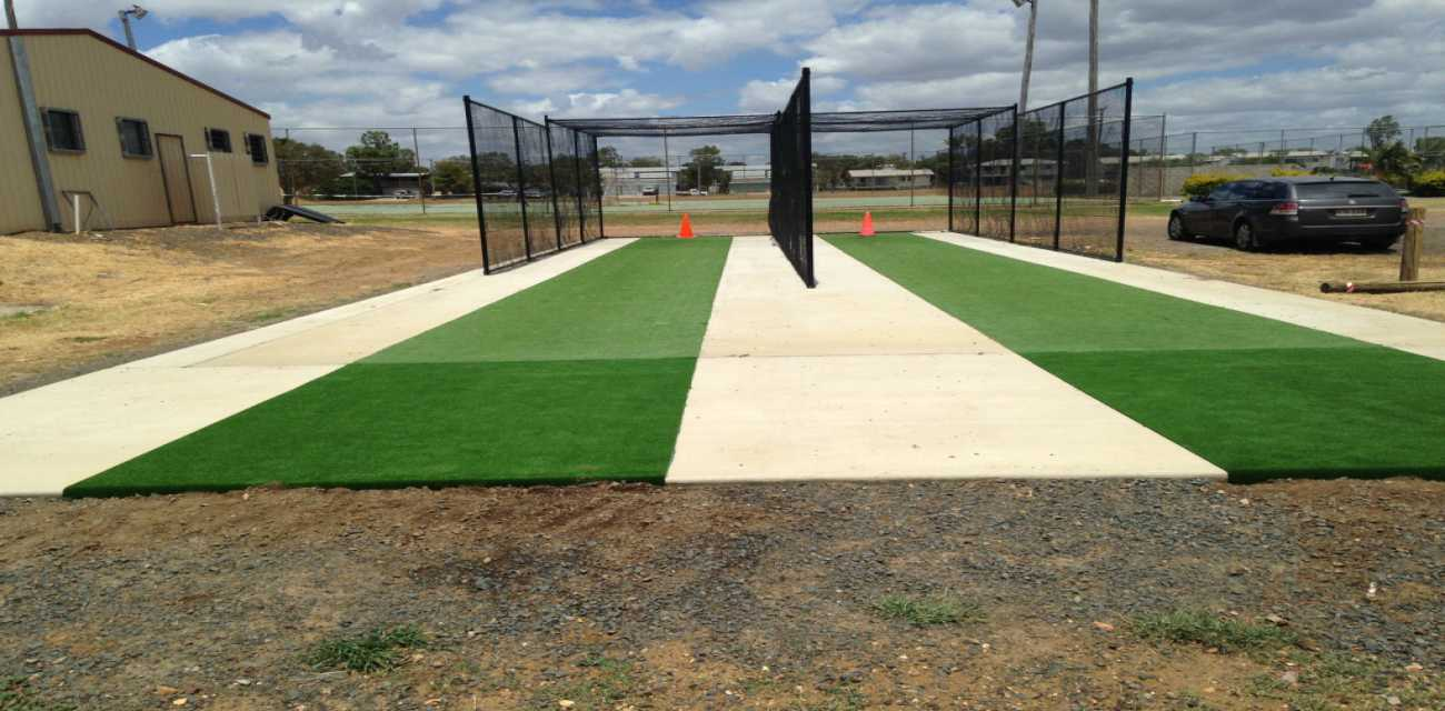 The Luxe Cricket Pitch is Available in various widths and lengths