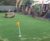 Luxe Putt has Extra long warranty due to durability of turf.