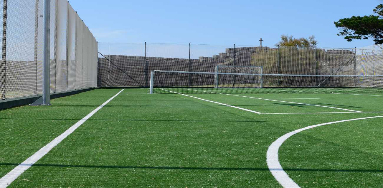Luxe Pro Tennis Turf offers great playing characteristics and durability