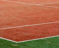 The Luxe leisure tennis turf provides a more cushioned surface