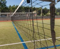 Luxe Leisure Tennis Turf has Great ball responsiveness with medium bounce and speed